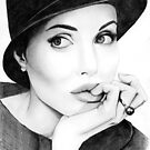 Angelina Jolie  by Laura Balc Photography
