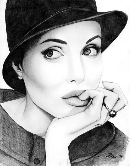 Angelina Jolie  by Laura Balc Photographer