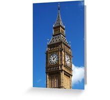 Big Bens Clock Greeting Card