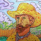 338 - BRICK VAN GOGH - DAVE EDWARDS - COLOURED PENCILS - 2011 by BLYTHART