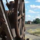 Crane gears at Cowra, Central NSW by DashTravels