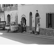 Pizza a Taglio, Chianti, Italy Photographic Print
