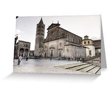 Cattedrale del Palazzo Dei Papi, Viterbo Greeting Card