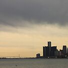 Detroit Skyline #2 by Joy Fitzhorn