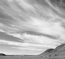 big land, big sky... by Allan  Erickson