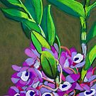 Wild orchids by marlene veronique holdsworth