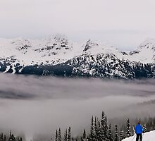 Blackcomb mist by David Geoffrey Gosling (Dave Gosling)