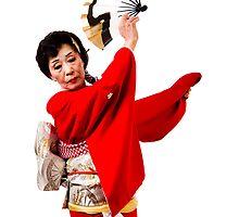 Japanese Kimono Dancer by busidophoto