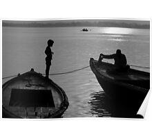 Boy on the Ganga Poster
