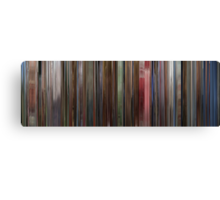 Moviebarcode: The Shining (1980) Canvas Print