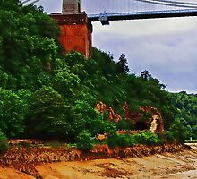 Clifton suspension bridge & the old Jetty by buttonpresser