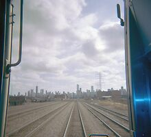 All Aboard the Holga Train  by laruecherie