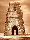 St Michaels Tower, Glastonbury Tor by trish725