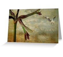 Fly on the Wings of Love Greeting Card