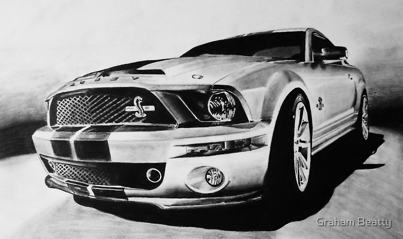Shelby Mustang GT-500 KR by Graham Beatty