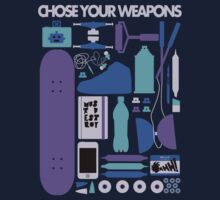 Chose Your Weapons - New Colours by Anna Beswick
