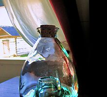 Old glass container by venny