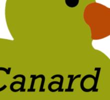 Le Canard Sticker