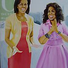 Oprah &amp; Michelle Obama by Aestheticz .