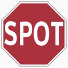 SPOT/STOP T-Shirt by Brian Walther