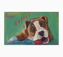 Got Balls? Bulldog by Ann Marie Hoff