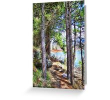 Riverwalk Trail Greeting Card