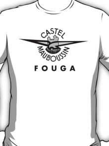 Fouga Aircraft Company Logo T-Shirt
