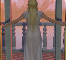 Dawn on the Balcony by Ryan Curtis