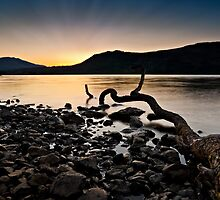 Sunrise at Derwent Water, Cumbria by David Lewins