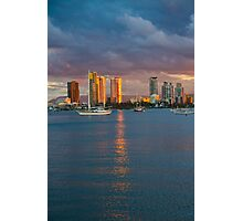 Sunset at the Spit Surfers Paradise Photographic Print