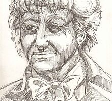 The Third Doctor by freedumbdclxvi