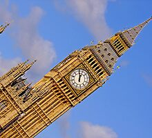 London Architecture  Big Ben Perspective by DavidGutierrez