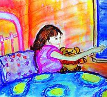Sweet Dreams Angels, Love Olivia by Helena Bebirian