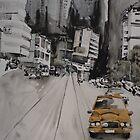 Yellow cab by Catrin Stahl-Szarka