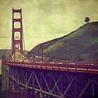 """Vintage Golden Gate"" by eleven12design"