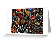 """""""Wall of Sound"""" Greeting Card"""