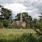 Church, nr Pershore, Worcs, England by LisaRoberts