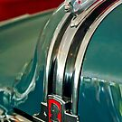 "1948 Pontiac ""Chief"" Hood Ornament 2 by Jill Reger"
