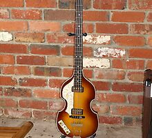 1962 Hofner Beatle Bass by John Harding