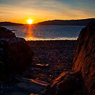 Last light over Loch Na Keal by Shaun Whiteman