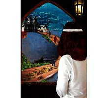 She Looked Over Camelot Photographic Print