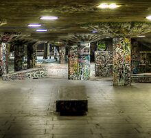 southbank...below ground by Adam Glen