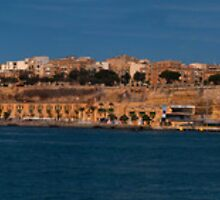 Valletta Harbour View by Mark Grech