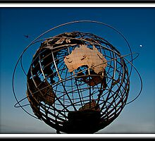Unisphere, Flushing Meadow Park NYC by rmc314