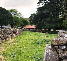 Red Barn Drive by David-J