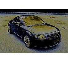 Audi TT Quattro Sport Coupe 2005 Photographic Print