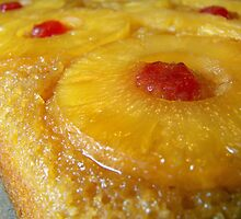 Pineapple Upside down Cake... Yum! by Marcia Rubin