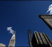 sky over the flatiron, 10 may 2011 by mark drago