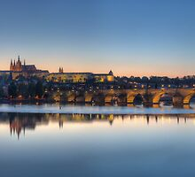 Charles Bridge Prague by Stefan Trenker
