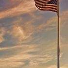 An American Sunset by Sally Kady